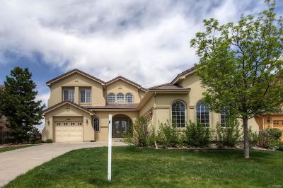 Castle Pines Single Family Home Under Contract: 6561 Ocaso Drive