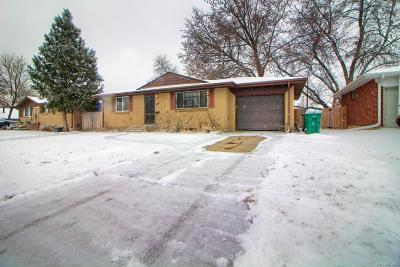 Lakewood CO Single Family Home Active: $350,000
