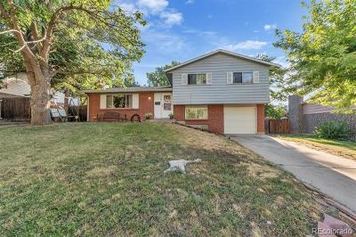 Westminster Single Family Home Active: 9345 Perry Street