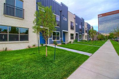 Denver Condo/Townhouse Under Contract: 4400 East Bails Place