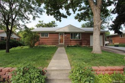 Northglenn Single Family Home Active: 11419 Irma Drive