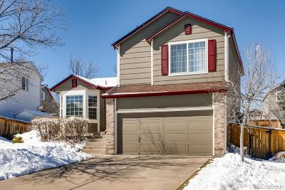 Highlands Ranch Single Family Home Under Contract: 9425 Cove Creek Drive