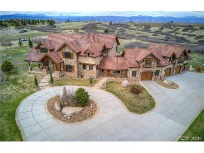 Castle Pines Single Family Home Active: 7663 Buffalo Trail