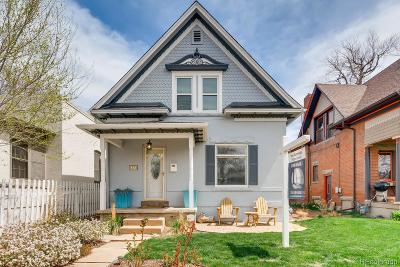 Denver Single Family Home Active: 1376 South Pearl Street