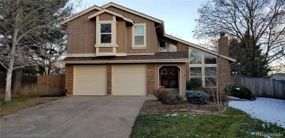 Littleton Single Family Home Active: 7718 Maroon Peak