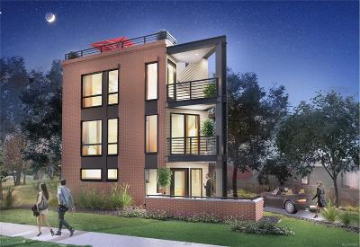 Denver Residential Lots & Land Active: 2852 Tremont Place