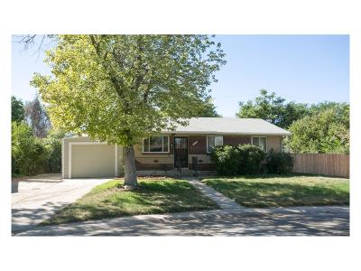 Commerce City Single Family Home Under Contract: 6160 Small Drive