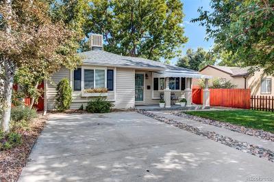 Denver Single Family Home Active: 4884 Vallejo Street