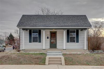 Denver Single Family Home Active: 4890 Irving Street