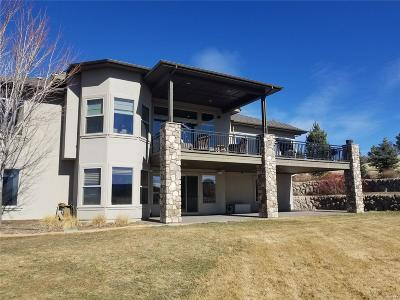 Castle Rock Single Family Home Under Contract: 1061 Night Wind Circle