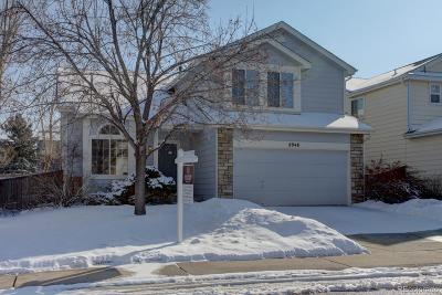 Highlands Ranch Single Family Home Under Contract: 2948 Deer Creek Trail
