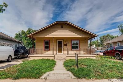 Denver Single Family Home Active: 4933 Julian Street