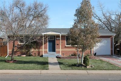 Arvada CO Single Family Home Active: $399,900