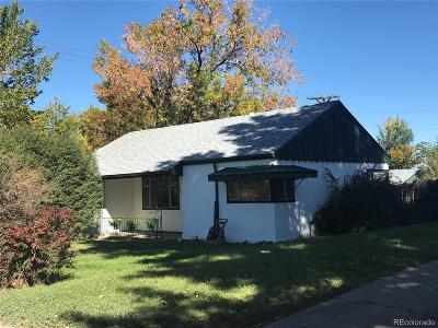 Denver Single Family Home Active: 700 South Mariposa Way