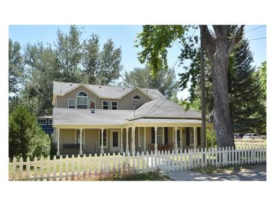 Niwot Single Family Home Under Contract: 100 Murray Street