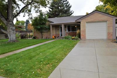 Wheat Ridge Single Family Home Under Contract: 4175 Balsam Street