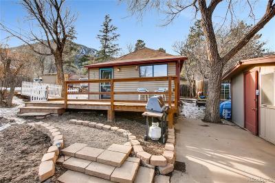 Palmer Lake Single Family Home Under Contract: 180 Virginia Avenue