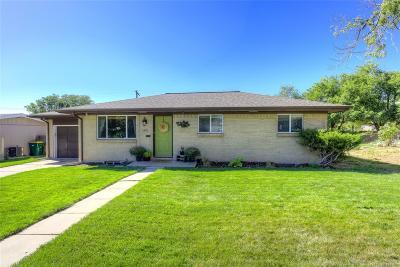 Denver Single Family Home Active: 7821 Robin Lane