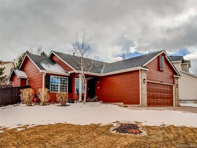 Castle Rock Single Family Home Active: 3327 Blue Grass Circle