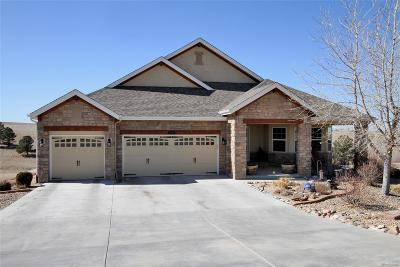 Elbert County Single Family Home Under Contract: 2375 Antelope Ridge Trail