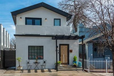Denver Single Family Home Active: 3636 Jason Street
