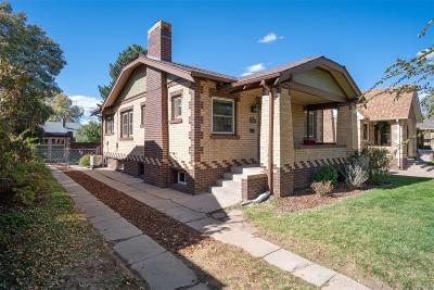 Single Family Home Under Contract: 1925 South Corona Street