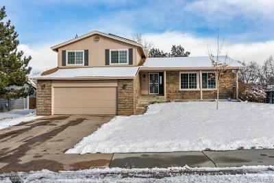 Highlands Ranch Single Family Home Under Contract: 8422 South Willow Creek Street