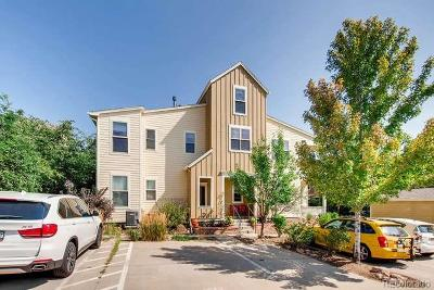 Boulder Condo/Townhouse Under Contract: 1460 Lee Hill Road #5