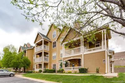 Castle Rock Condo/Townhouse Under Contract: 6001 Castlegate Drive #A37