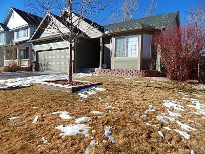 Castle Rock Single Family Home Under Contract: 5612 Spruce Avenue
