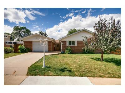 Northglenn Single Family Home Active: 10467 Lipan Street