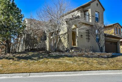 Castle Rock CO Single Family Home Under Contract: $779,000