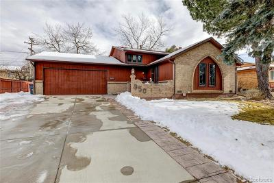 Broomfield Single Family Home Under Contract: 950 Flint Way