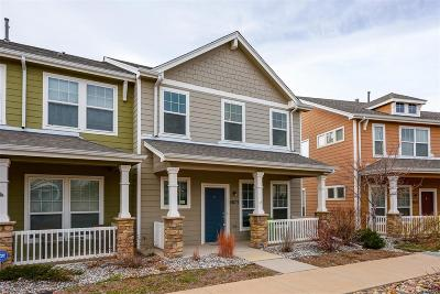 Colorado Springs Condo/Townhouse Under Contract: 4873 Harrier Ridge Drive