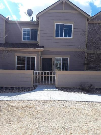 Castle Rock Condo/Townhouse Under Contract: 2550 Cutters Circle #105