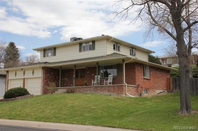 Arvada Single Family Home Active: 6966 Dudley Drive
