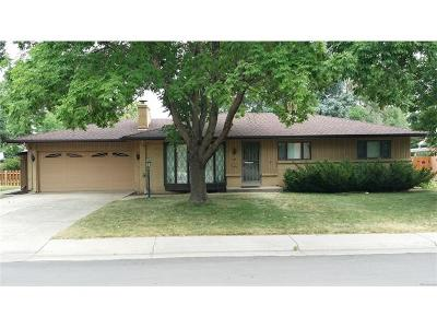 Lakewood CO Single Family Home Sold: $330,000