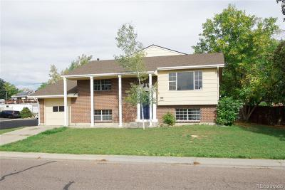 Northglenn Single Family Home Active: 1201 Phillips Drive