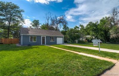Denver Single Family Home Active: 635 Pontiac Street