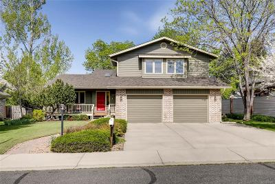 Boulder Single Family Home Active: 7478 Park Circle