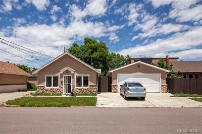 Denver Residential Lots & Land Active: 2319 West 39th Avenue