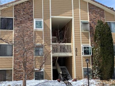 Aurora Condo/Townhouse Under Contract: 3014 South Ursula Circle #302
