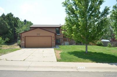 Castle Rock Single Family Home Active: 808 Park View Place