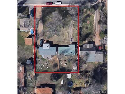 Arapahoe County Residential Lots & Land Active: 2234 West Parkhill Avenue