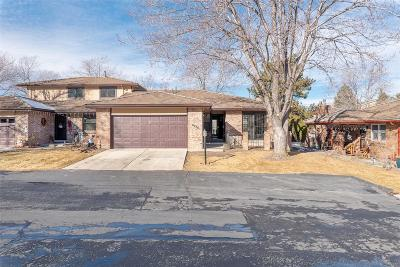 Arvada Condo/Townhouse Under Contract: 8036 West 78th Way
