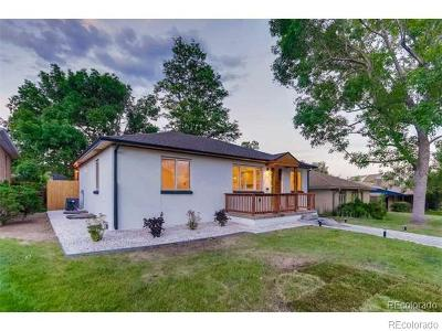 Denver Single Family Home Active: 1654 South Josephine Street