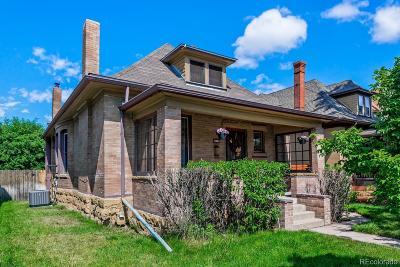 Denver Single Family Home Active: 3023 York Street