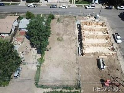 Denver Residential Lots & Land Active: 2812 West 4th Avenue