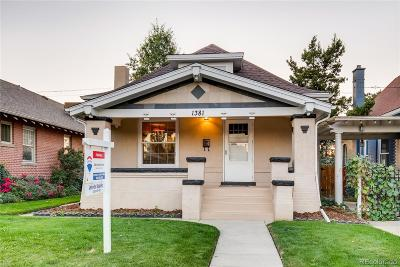 Denver Single Family Home Active: 1381 South Lincoln Street
