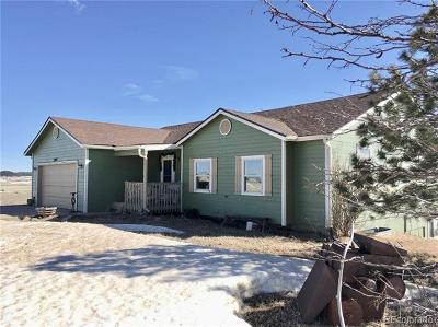 Elbert CO Single Family Home Under Contract: $424,900